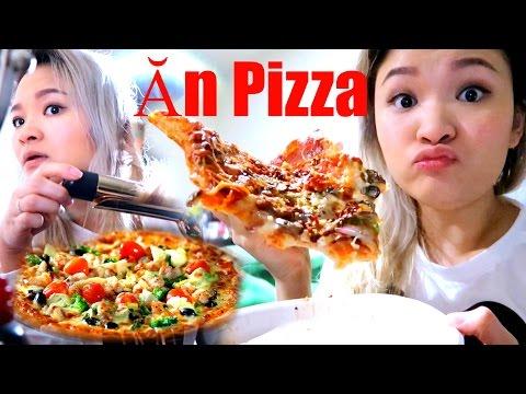 Ăn Thử Bánh Pizza Thập Cẩm Mua Ở Costco, Thử Máy Uốn Tóc Mới Mua