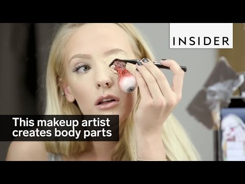 This Special Effects Makeup Artist Creates Body Parts