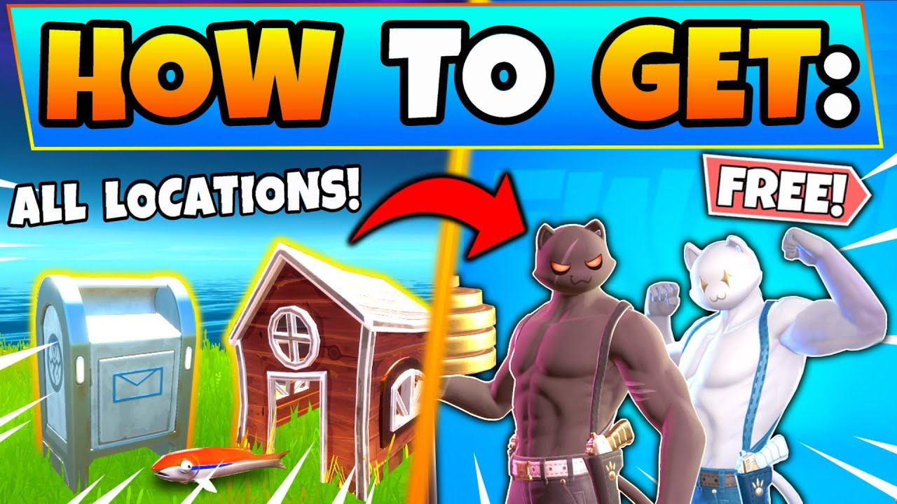 Fortnite Drop Boxes Deliver Fish To Shadow Ghost Meowscles