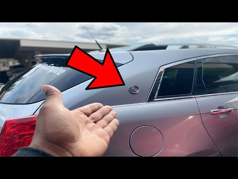 HOW TO INSTALL EMBLEM ON CADILLAC SRX | HOW TO