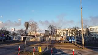 Emisja z komina PKN Orlen 12.02.2019