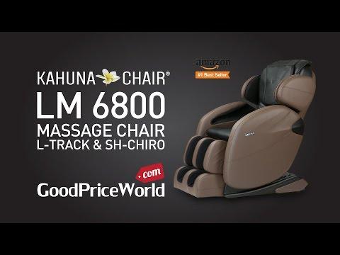 L-TRACK Kahuna Massage Chair - LM 6800