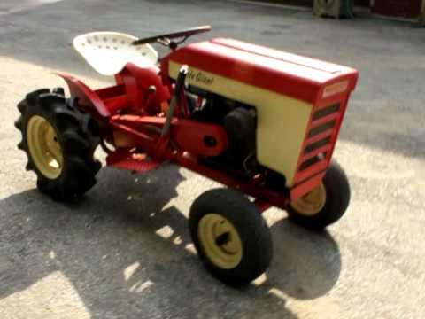 Wagner Little Giant Model 700 A Garden Tractor