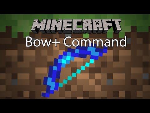 Minecraft Command รีวิว - ธนู+ | Bow+ Command [1.10.x]