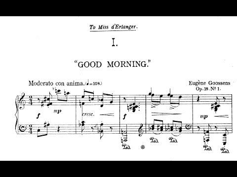 Eugene Goossens - Kaleidoscope Op 18 1917 arr for Orchestra