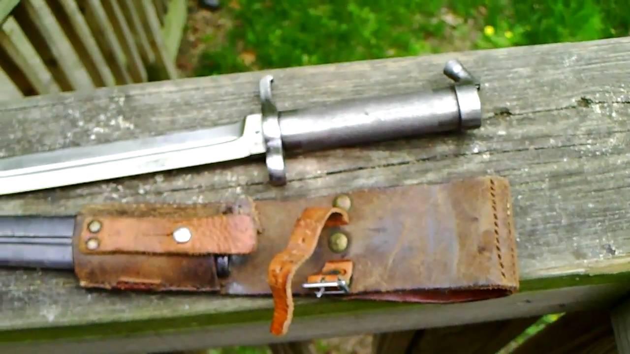 Swedish Army Model 1896 Bayonet