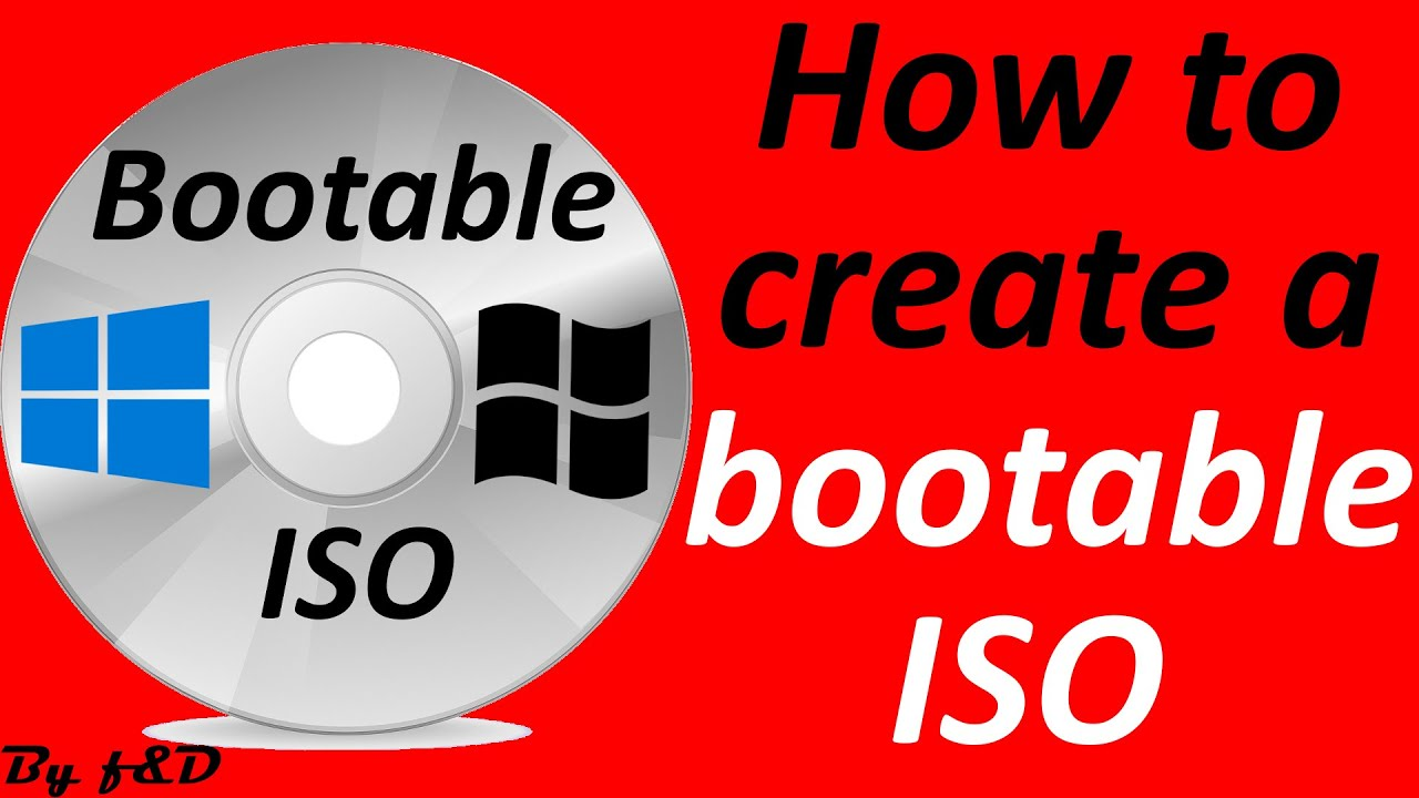 How to create Bootable ISO for windows with imgburn (step by step guide)