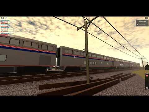 Roblox Amtrak Roblox Amtrak In Tehachapi Youtube