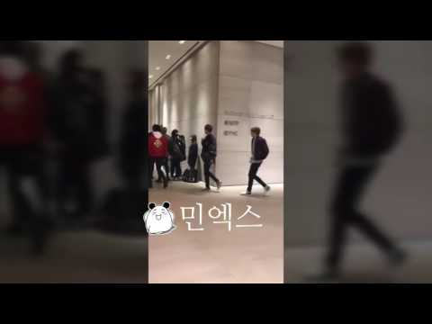 [170322] BTS Entering Billboard Magazine building