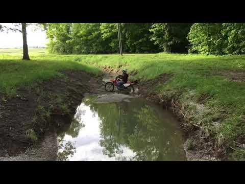 Crf100f riding tricks/wheelies