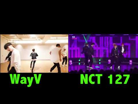WayV Vs  NCT 127 Comeback Dance Choreography Comparison