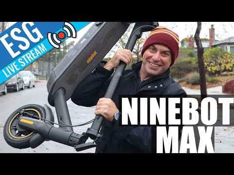 Scooter Chat #17 - Ninebot Max + Your Questions