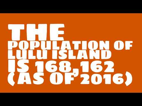 What is the population of Lulu Island?