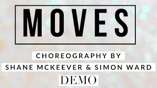 MOVES line dance demo, choreography by Shane McKeever & Simon Ward