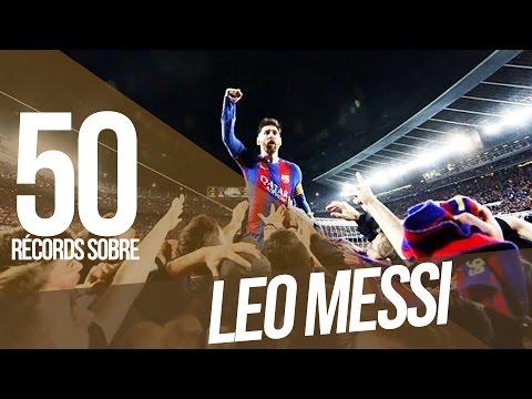 Los 50 récords de LEO MESSI