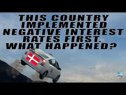 First Country to Use Negative Interest Rates: Wealth Inequality Disaster!
