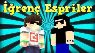 İĞRENÇ ESPRİLER! - Minecraft: Block Party w/ Rodinya