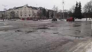 Чернигов скоро затопит водой(В Чернигов пришла весна! Снег начал таять, а на дорогах образовалась слякоть, которая быстро превратится..., 2013-04-02T12:15:30.000Z)