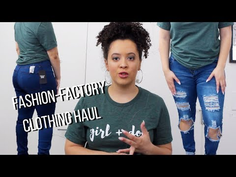 SPRING FASHION-FACTORY TRY ON HAUL 2018
