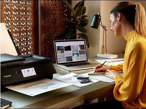 Обзор струйных принтеров Canon PIXMA для домашнего офиса (Webinar)