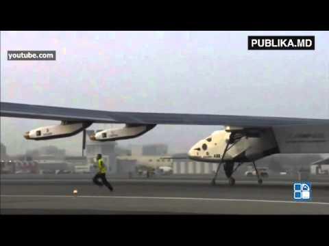 PUBLIKA ONLINE: Primul avion propulsat cu energie solară a zburat săptămâna trecută