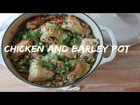 chicken and barley pot | Recipe 8 | #myhealthyramadan