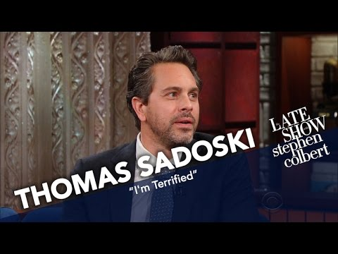 Thomas Sadoski Is Ready To Be Overwhelmed By His First Child