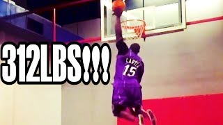 THE HEAVIEST DUNKER IN THE WORLD!!! Video