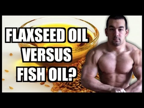 Flaxseed oil vs fish oil which is better youtube for Flaxseed oil or fish oil