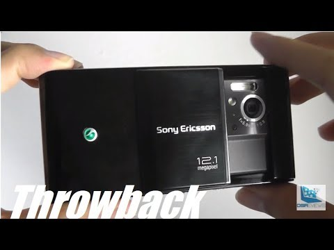 Throwback: Sony Ericsson Satio (Idou UI) - 12MP Cameraphone