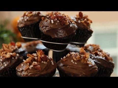 How to Make Chocolate Bacon Cupcakes | Cupcake Recipes | Allrecipes.com