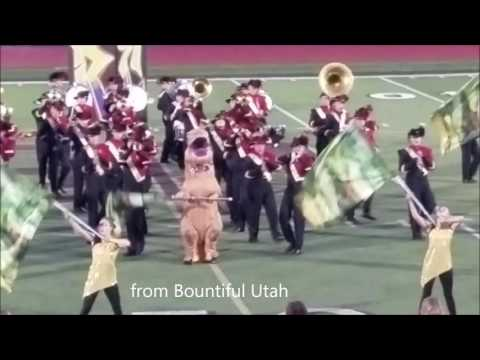 T Rex joins the Marching Band