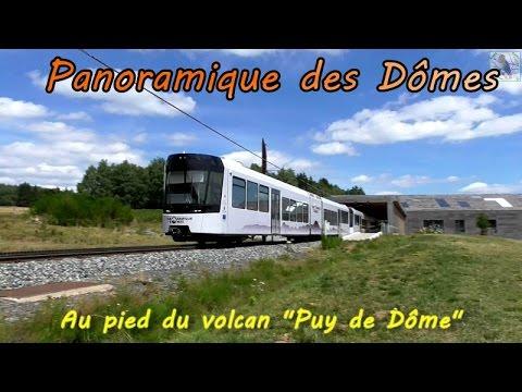 Train panoramique des Dômes, Puy de Dôme 2015. HD