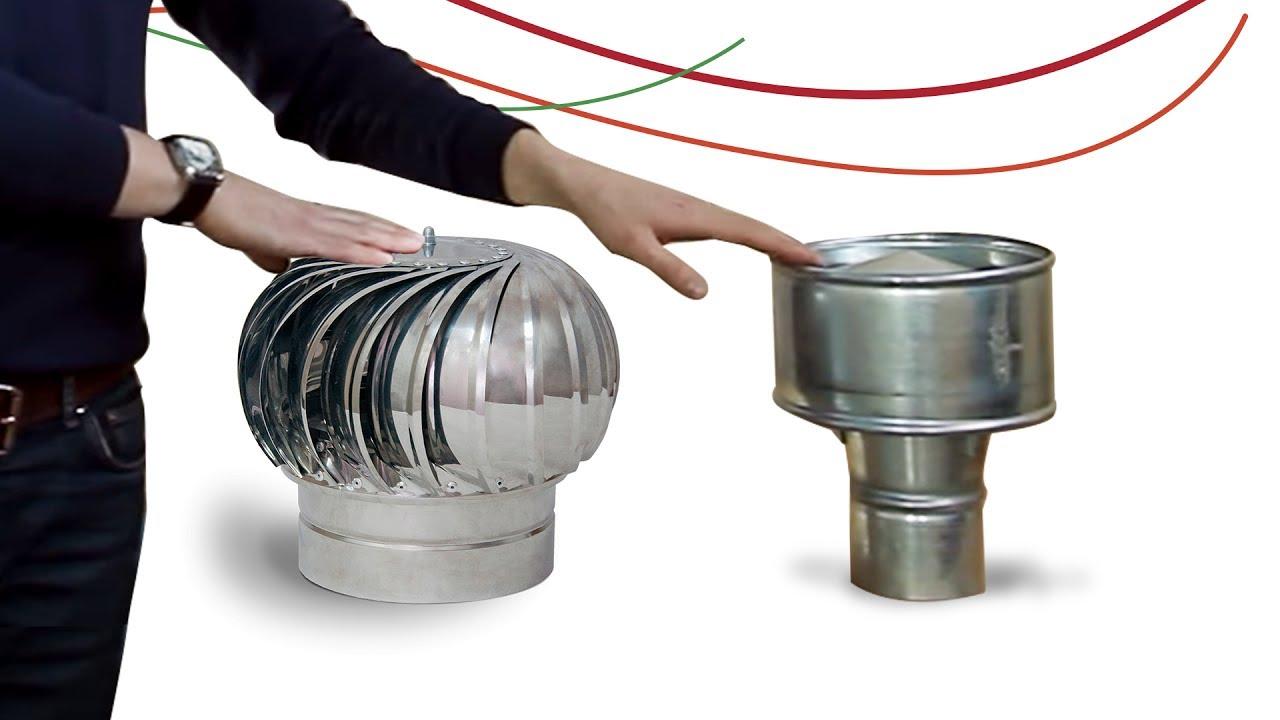 Вентиляция в доме. Турбодефлектор или дефлектор ЦАГИ ? Сравнение. Воздуховоды для вентиляции крыши
