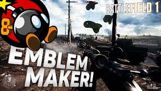 battlefield 1 how to create custom emblem