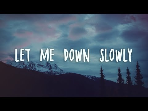Alec Benjamin - Let Me Down Slowly (Lyrics) Mp3