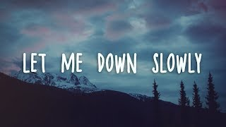 Download Alec Benjamin - Let Me Down Slowly (Lyrics) Mp3 and Videos