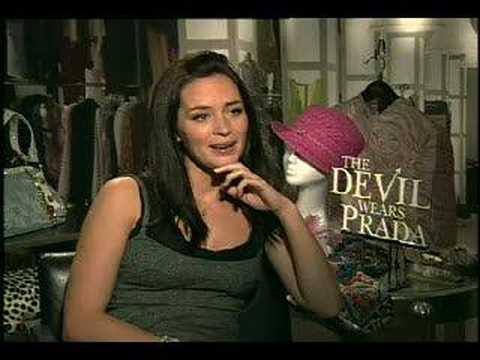 The Devil Wears Prada Emily Blunt Interview Youtube