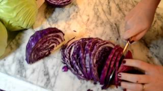 Cooking 101: How To Slice Up Cabbage