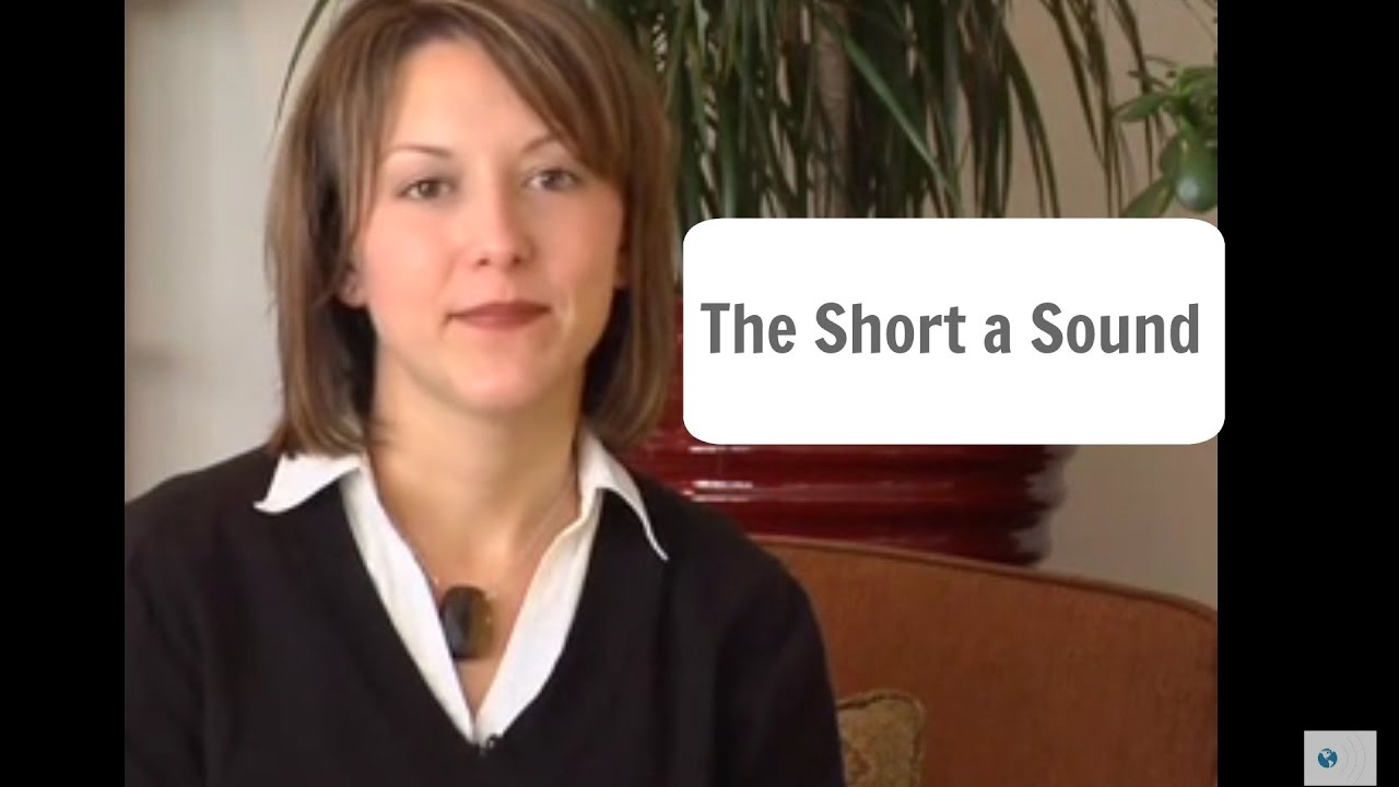 How to pronounce the English short a sound /æ/ - Pronunciation Lesson