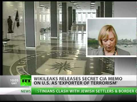 'Exporter of terrorism': WikiLeaks releases secret 'CIA paper'