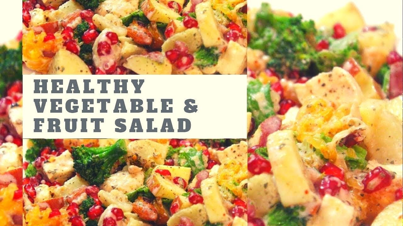 Fruit Vegetable Salad Weight Loss Salad Recipes Lose 2 3 Kgs In A Week Easy Salad Recipes