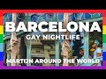 GAY Barcelona Travel // Exploring nightlife Spain Barcelona