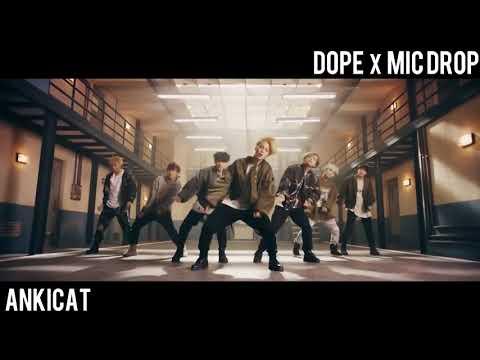 [MASHUP] BTS MIC DROP (STEVE AOKI REMIX VER) X DOPE