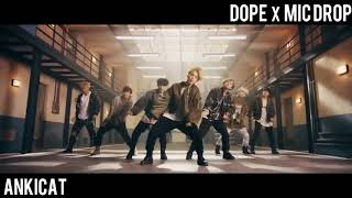 Video [MASHUP] BTS MIC DROP (STEVE AOKI REMIX VER) X DOPE download MP3, 3GP, MP4, WEBM, AVI, FLV Juni 2018