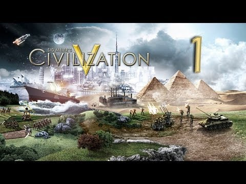 Let's Learn Civilization V -1- Brave New World