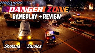 Danger Zone | Gameplay + REVIEW (Burnout's Spiritual Sequel) PS4