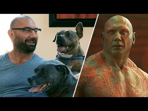 Guardians of the Galaxy's Dave Bautista Loves Dogs