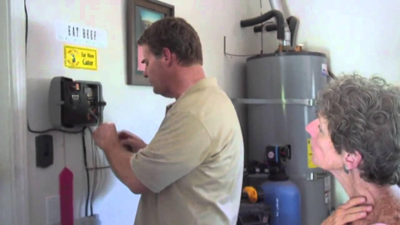 Wireless Remote Sprinkler Controller Installation Youtube