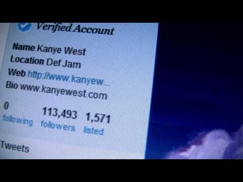 SB.TV - Kanye West creates a buzz on Twitter